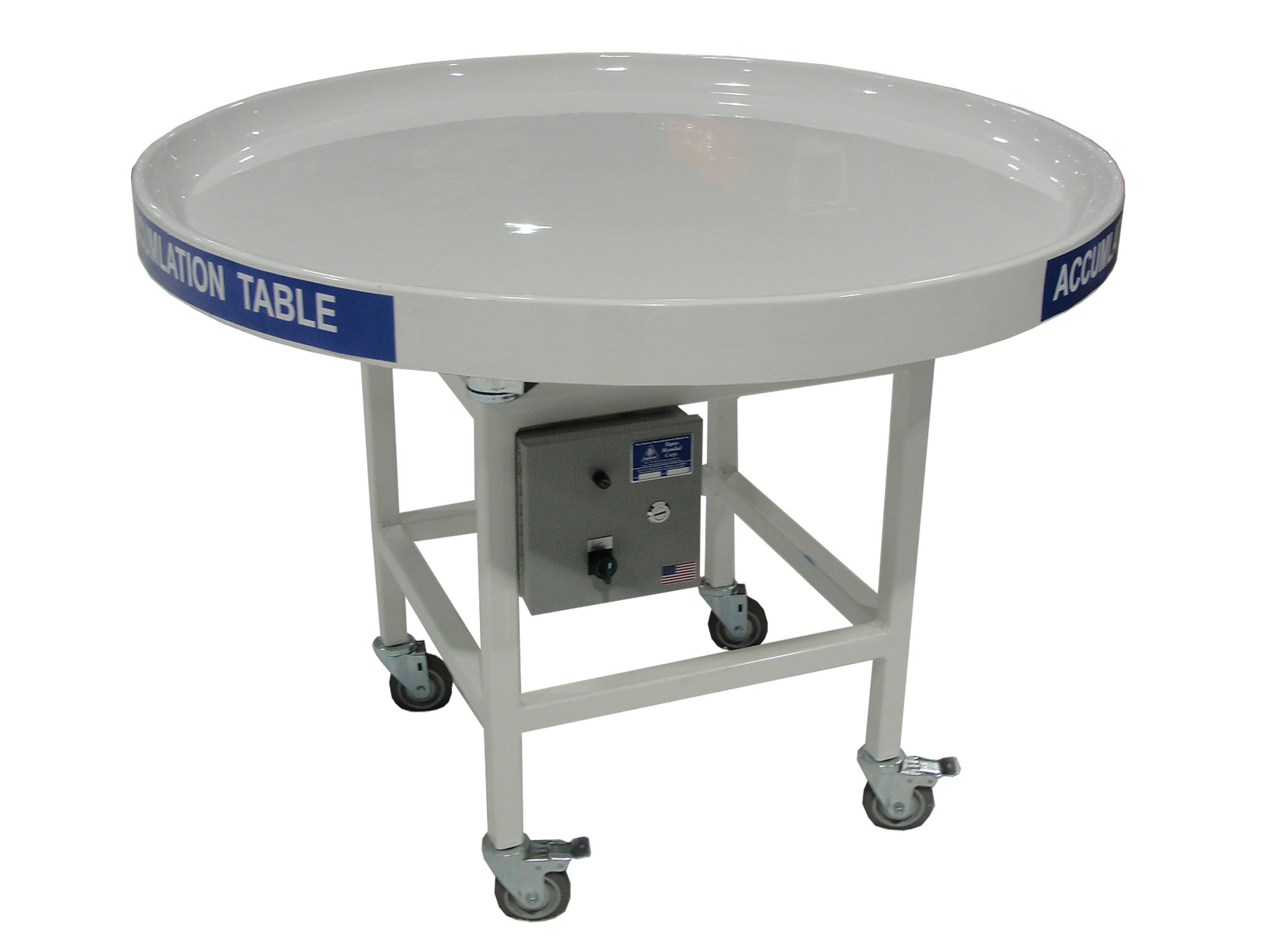 Rotating table top topos rotating accumulation table for Rotating dining table