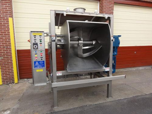 Horizontal Bakery Mixer   Open Frame - Single Sigma Horizontal ...